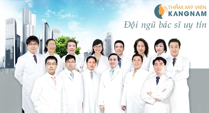 Đội ngũ bác sĩ tại Thẩm mỹ viện Kangnam 1