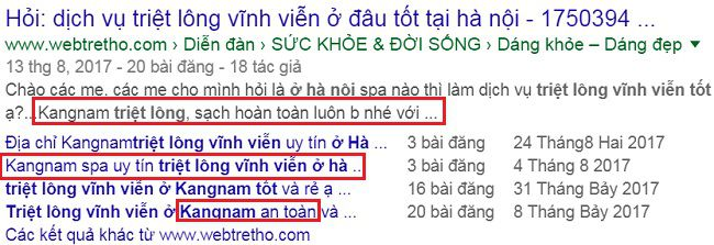 Kangnam được nhắc đến nhiều nhất về chủ đề tìm kiếm địa chỉ triệt lông vĩnh viễn ở đâu tốt Hà Nội