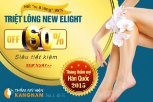 """""""Nóng bỏng tay"""" với voucher triệt lông vĩnh viễn 60% tại Kangnam"""