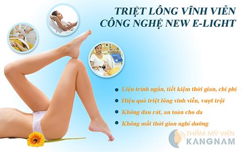 4 lý do New E-light được lựa chọn để triệt lông chân vĩnh viễn 3