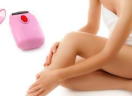 """""""Mổ xẻ"""" những vấn đề chị em cần biết về máy tẩy lông chân 1"""