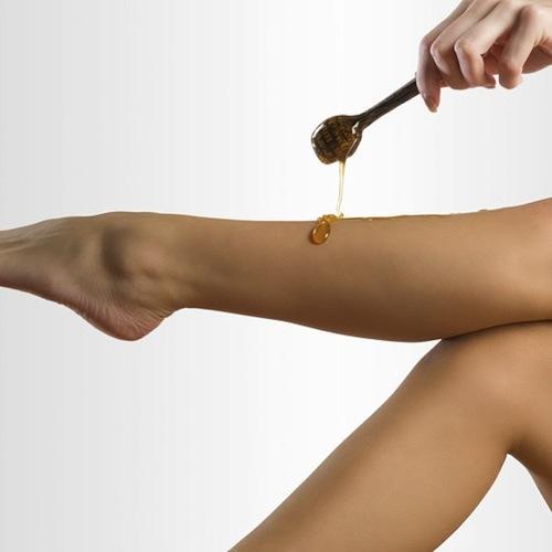 Mẹo tẩy lông chân hiệu quả với các nguyên liệu thiên nhiên 5