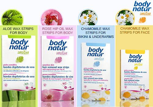 Miếng dán wax lông body natur