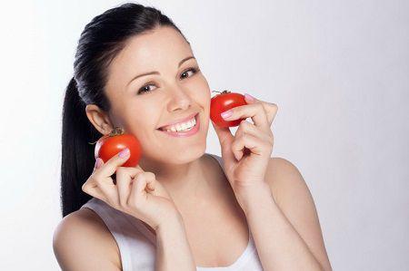 cách triệt lông mặt bằng cà chua1