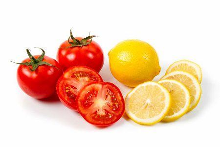 cách triệt lông mặt bằng cà chua2