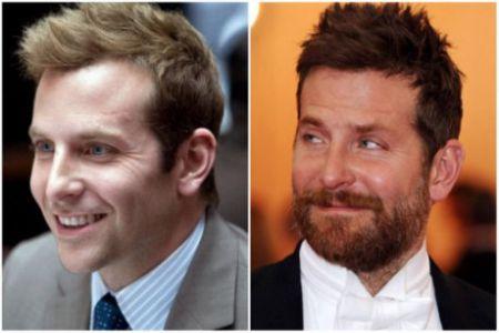 Bradley Cooper trẻ ra hàng chục tuổi so với khi anh để râu quai nón đến tận cổ thế kia