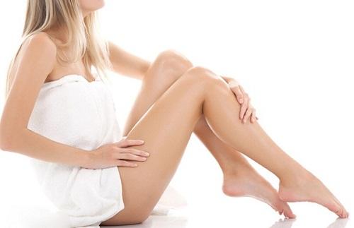 cách làm rụng lông chân không mọc lại