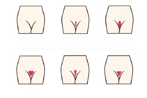 cách tỉa lông vùng kín nữ bằng kéo