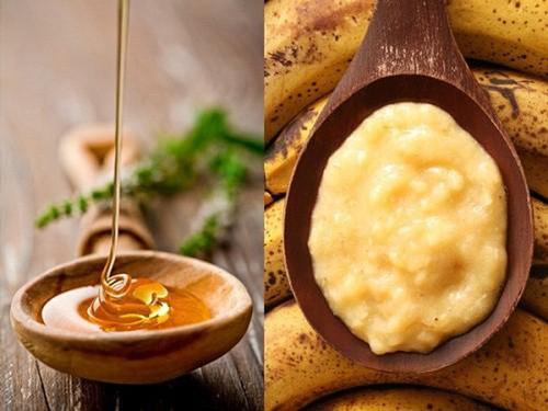 tẩy ria mép bằng khoai tây và mật ong