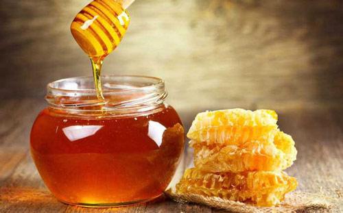 mật ong tẩy ria mép